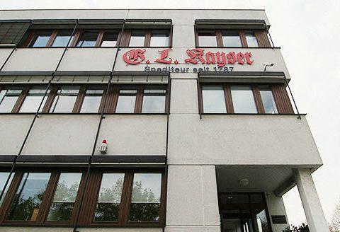 G.L. Kayser Hauptverwaltung